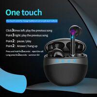 EarPods - trådløse hodetelefoner med ladetasker - svart