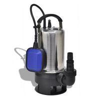 vidaXL Skitten Vann Nedsenkbar Pumpe750 W 12500 l / time