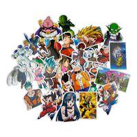 50x Klistremerker - Dragon Ball