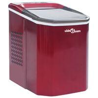 vidaXL Isbitmaskin 1,4 L 15 kg / 24 t rød