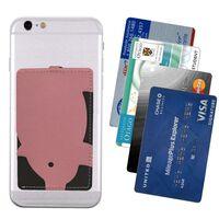 Mobiltelefon kortholder - rosa