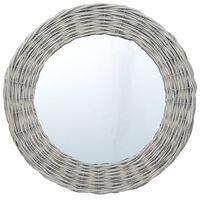 vidaXL Speil 40 cm kurvstrå