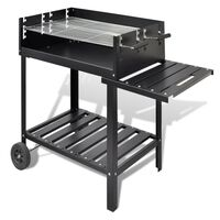 BBQ Stand barbeque grill med 2 hjul