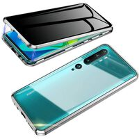 Mobilt deksel med tosidig herdet glass til XiaoMi CC9 PRO - Sølv