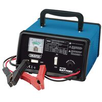 Draper Tools Batterilader 25,8x14,5x25 cm 6/12 V 8,4 A