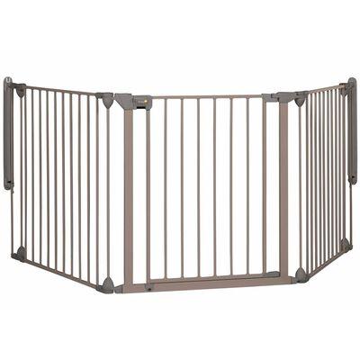 Safety 1st Sikkerhetsgrind Modular 3 3 paneler grå 82-214 cm 24226580