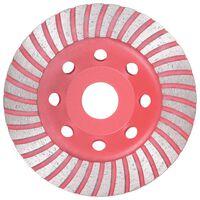 vidaXL Diamantbelagt slipekopp med turbo 115 mm