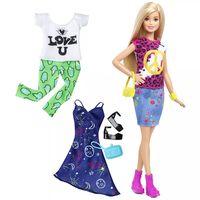 Barbie Fashionistas-dukke Peace & Love DTD98