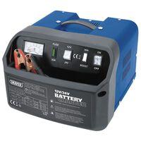 Draper Tools Batterilader 28,5x28x20 cm 12/24 V 15 A