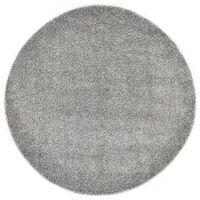 vidaXL Shaggy flossteppe 67 cm grå