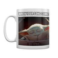 Baby Yoda, Krus - When your song comes on