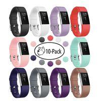 Armbånd Til Fitbit Charge 2, 10-pack (s) - Ulike Farger