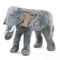 CHILDHOME Stående leketøy elefant 77x33x55 cm srå