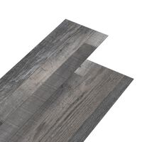 vidaXL PVC gulvplanker 4,46 m² 3 mm selvklebende industrielt trevirke