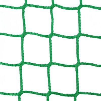 vidaXL Høynett 2 stk Rund 1x1 m PP