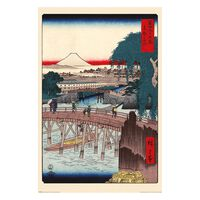 Hiroshige, Maxi Poster - Ichikoku Bridge