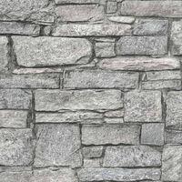 DUTCH WALLCOVERINGS Veggpanel gamle murstein grå