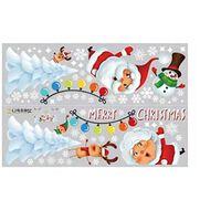 Klistremerker med julemotiv 2-pakning