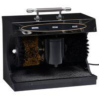 vidaXL Elektrisk skopussemaskin helautomatisk svart