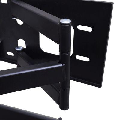 "vidaXL TV-stativ veggfestet dobbeltarmet 3D 600 x 400 mm 37"" - 70"""