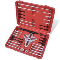 Demonteringsverktøy for svinghjul, styrehjul, remskive, etc. 45 stk