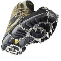 Antislip / pigger for sko med 18 ståltenner for pigger - L