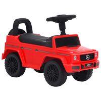 vidaXL Gåbil Mercedes-Benz G63 rød