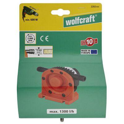 wolfcraft Drillpumpe 1300 l/h S=6 mm 2202000