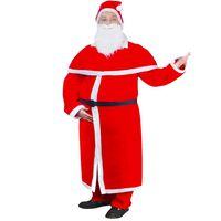 Julenisse Julekostyme kappe-sett