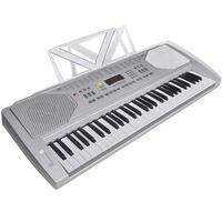 Klektronisk Piano Keyboard med Notestativ