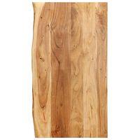 vidaXL Topplate til baderomsmøbler heltre akasie 100x55x2,5 cm