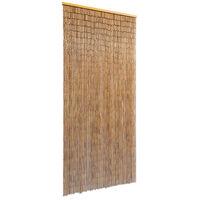 vidaXL Dørforheng bambus 90x200 cm