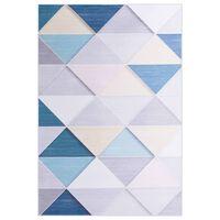 vidaXL Teppe print flerfarget 120x160 cm stoff