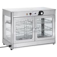 vidaXL Elektrisk Gastronorm matvarmer 1200 W rustfritt stål