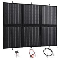 vidaXL Sammenleggbar solpanellader 120 W 12 V