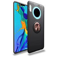 Mobiltelefon veske med ringholder Huawei Mate 30 - svart / rosé