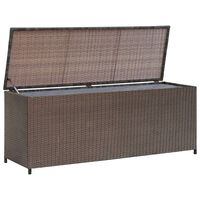 vidaXL Putekasse 120x50x60 cm polyrotting brun
