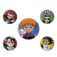 Bleach, 5x Pins - Chibi Characters