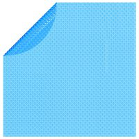 vidaXL Flytende solarduk PE 381 cm blå