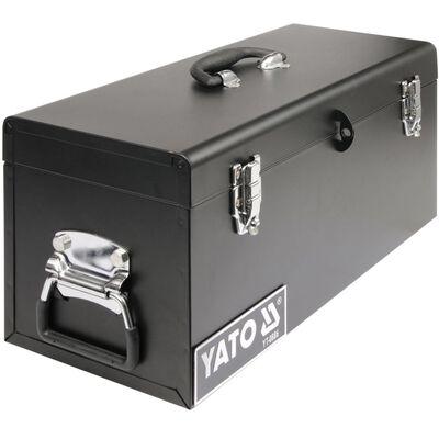 YATO Verktøykasse stål 510 x 220 x 240 mm