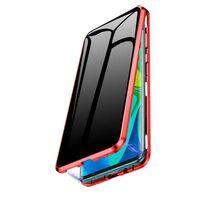 Mobilt deksel med tosidig herdet glass - XiaoMi F1 - Rød