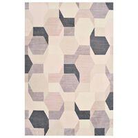 vidaXL Teppe print flerfarget 80x150 cm polyester