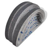 Luftpresse pneumatisk slipebånd 30 stk 10 x grit 60, 10 x grit 80, 10 x grit 120 10 mm x 330 mm