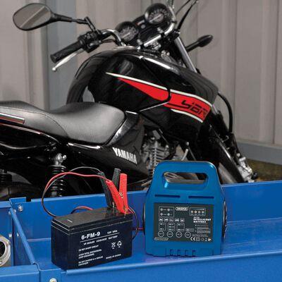 Draper Tools Intelligent batterilader 18,4x11,2x8,6 cm 6 V/12 V