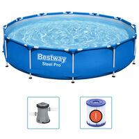 Bestway Steel Pro Rammebasseng 366x76 cm