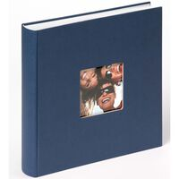 Walther Design Fotoalbum Fun 30x30 cm blå 100 sider