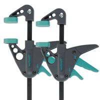 wolfcraft Enhåndstvinger 2 stk EHZ 40-110 3455100