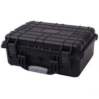 vidaXL Beskyttende utstyrsveske 40,6x33x17,4 cm svart