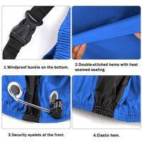 Sykkeldeksel, Regnbeskyttelse Og Uv-beskyttelse - Blå