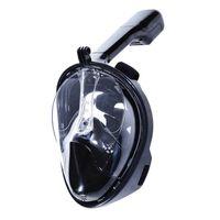 Helmaske cyclops med snorkel og GoPro feste Svart S/M